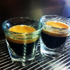 barista espresso shots