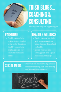 Wellness, parenting and social media coaching