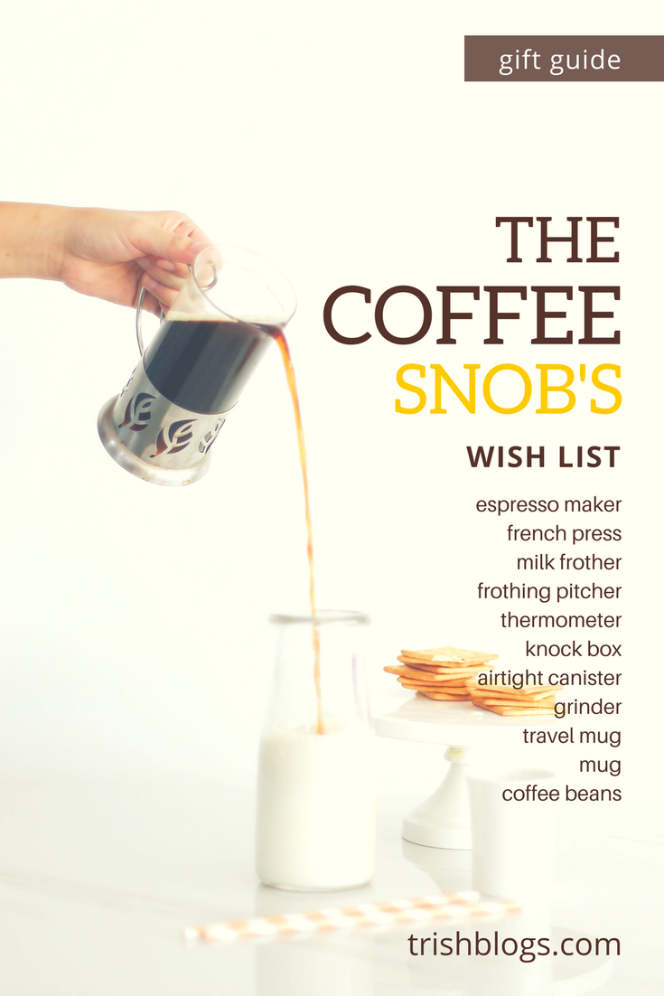 Coffee Gift Guide Pin